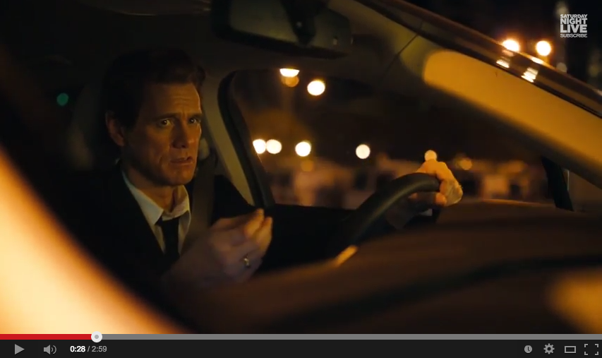 matthew mcconaughey s lincoln commercial spoofed by jim carrey