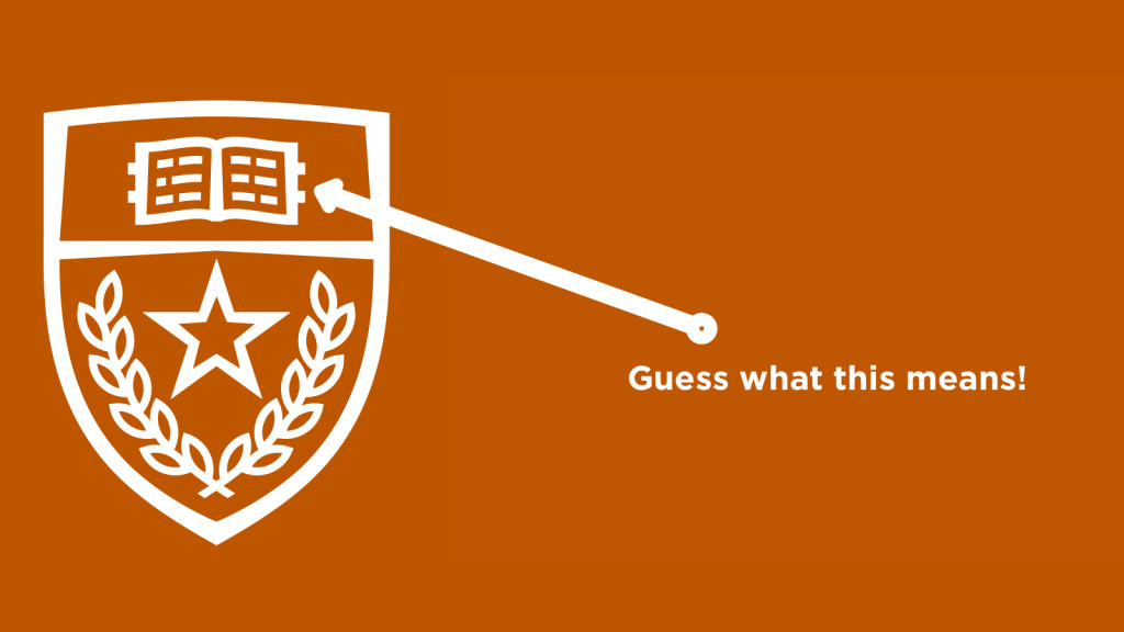 Uts New Academic Symbol Has A Hidden Meaning Longhorn Humor