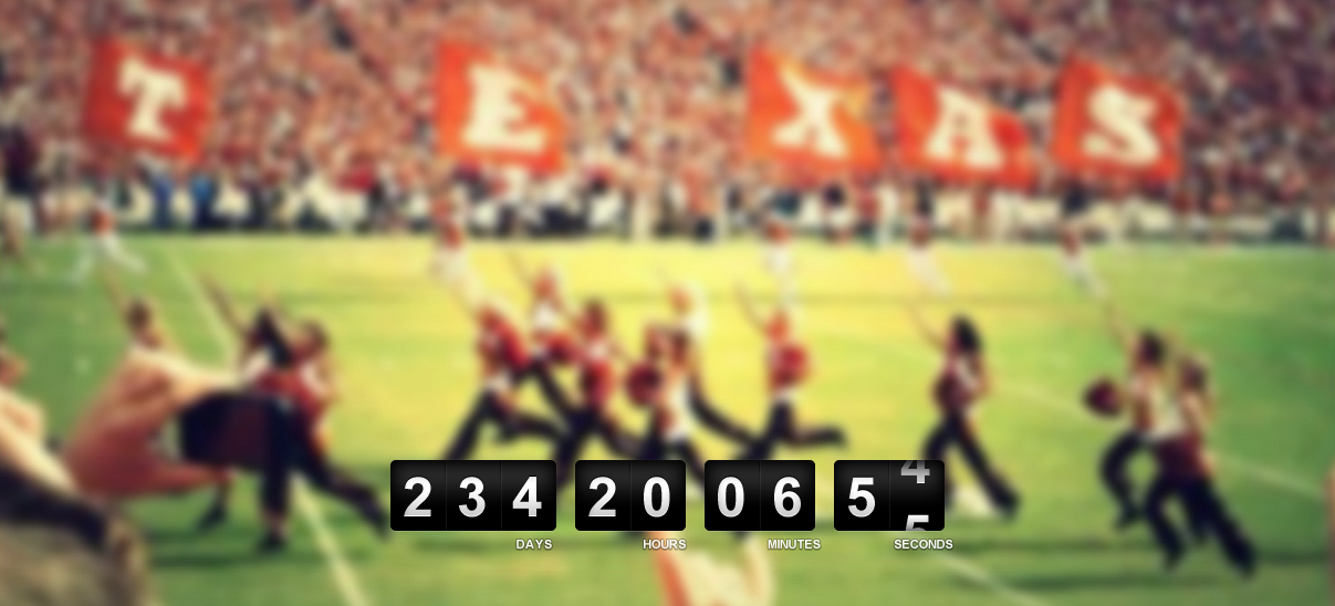 2014 Longhorn Football Countdown